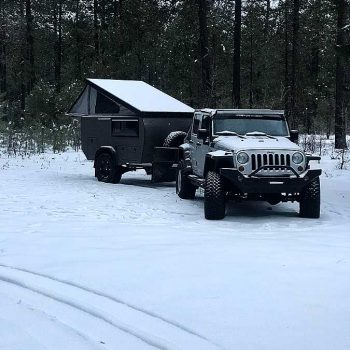 offraod rv little sniper front snow jeep overlander