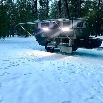 offraod rv little sniper x night snow overlander