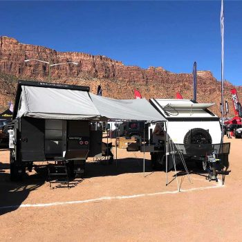 offroad rv overland campers sniperx grey & white