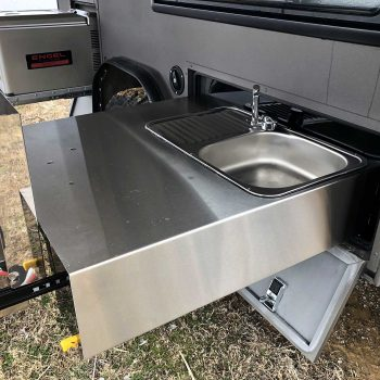 offroad rv overland campers sniperx sink fridge