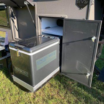 sniper x rv camper external slide out kitchen